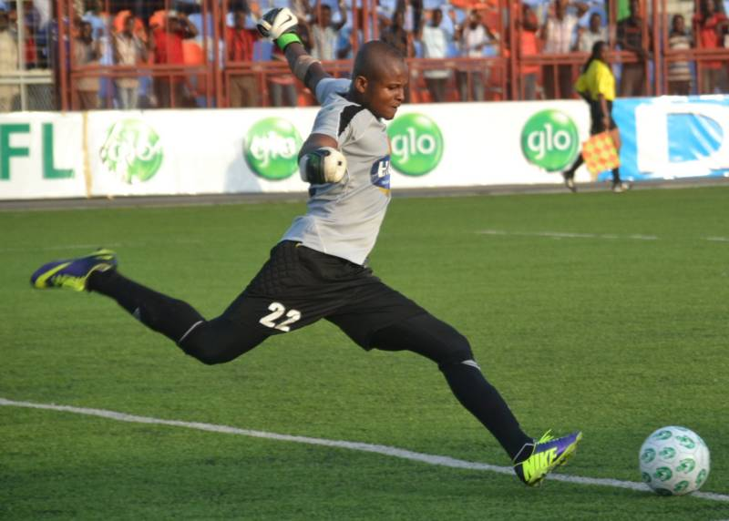 Ezenwa to the first choice goalkeeper at Enyimba FC