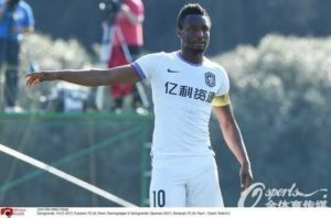 Mikel Announces Departure From Tianjin Teda, Reveals Possible Destination