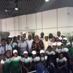 Senator Adeyeye pumps up Falconets' spirit Ahead of their 2018 FIFA U20 Women's World Cup qualifying match
