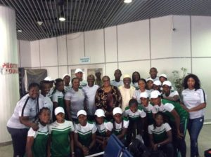 Falconets land Rabat with a bang for the African Games
