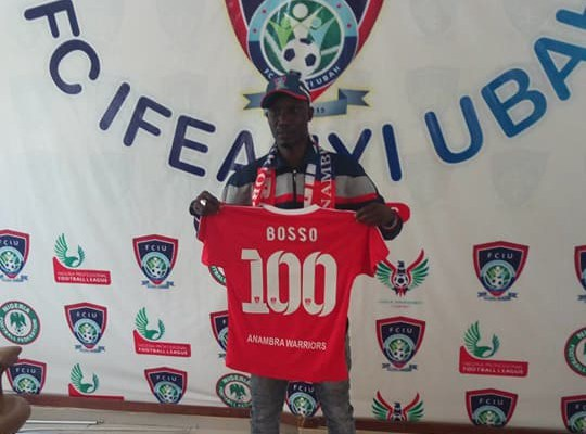 Ifeanyi Ubah unveil Bosso as Yaw Preko's Replacement