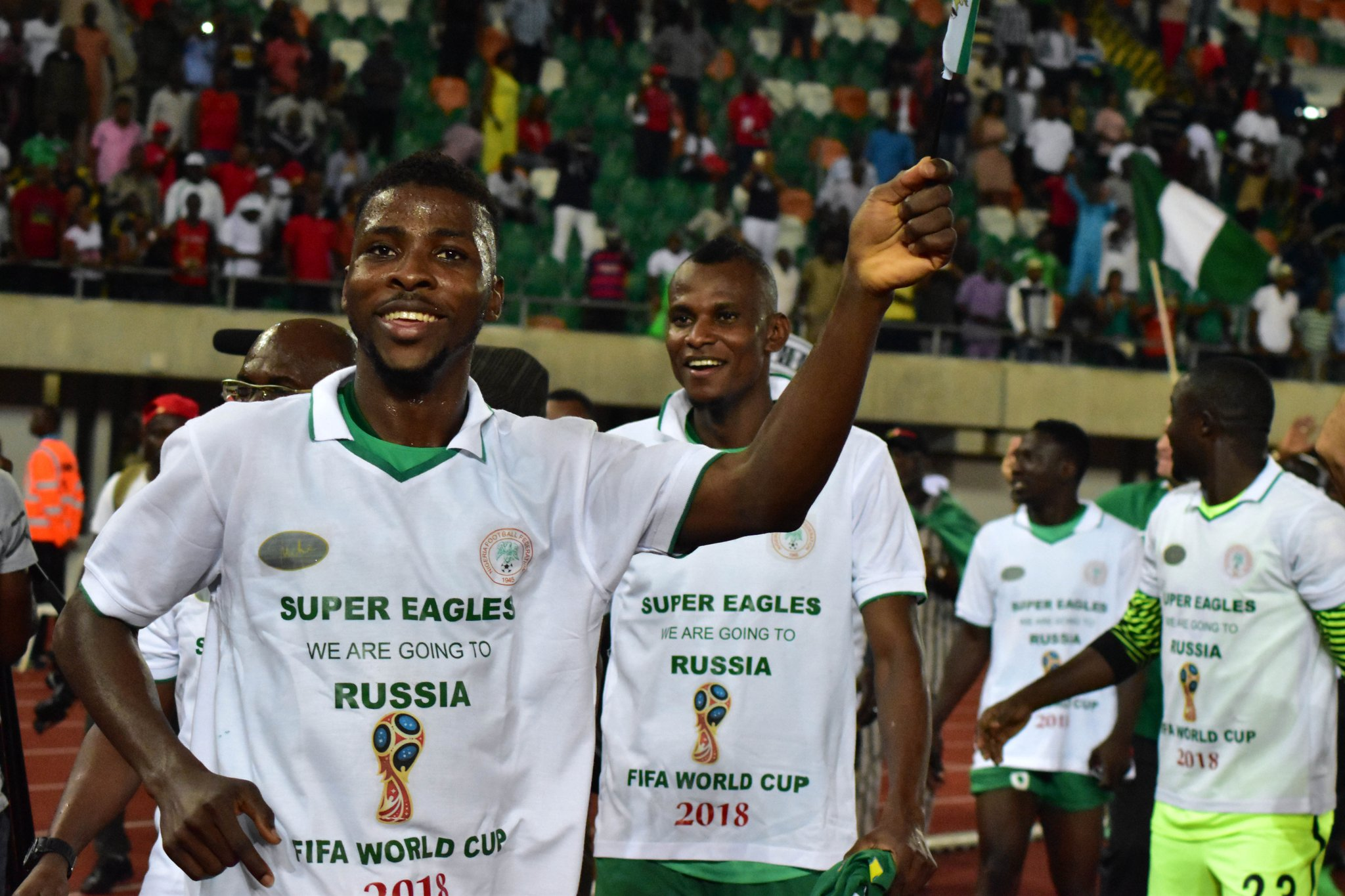 Nigeria's World Cup qualification, Mayweather's victory  tops 2017 sporting moments