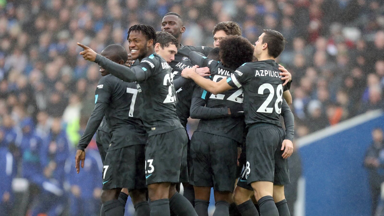 Brighton 0 vs Chelsea 4: Moses Scores and assist  As Chelsea Trounce Brighton