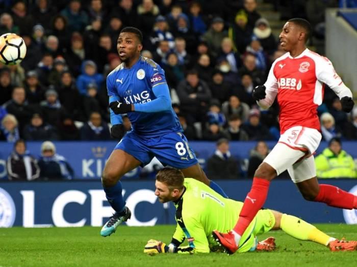 Leicester City's Claude Puel challenges Kelechi Iheanacho