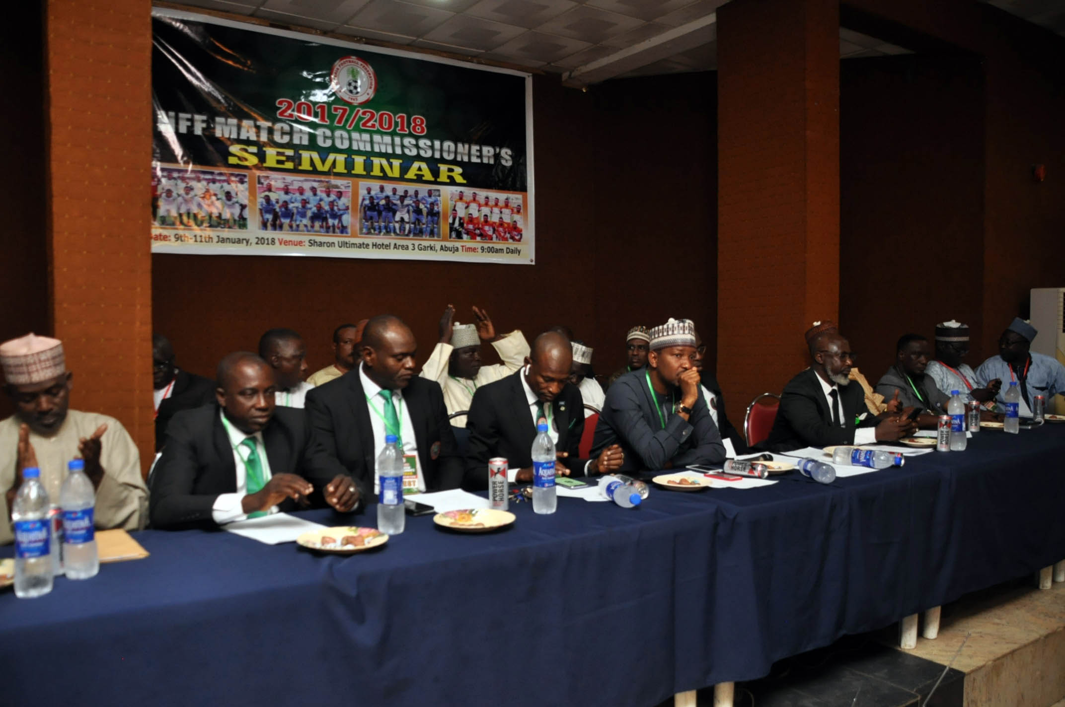 NFF wants match commissioners to enhance capacity