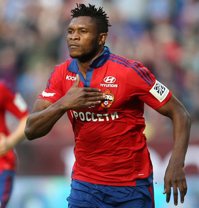 Aaron Samuel On Target For Amkar Perm Following Loan Move From CSKA Moscow