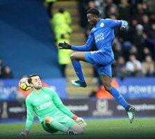Skillful Iheanacho Bags Assist, Ndidi's Goal Chalked Off