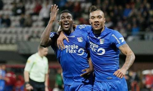 Liverpool loanee Taiwo Awoniyi Scores Twice In Bad Tempered Seven Goal Thriller In Belgium