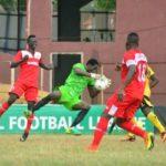 NPFL Review: Okpotu Sent Off As Lobi Stay Top; Sunshine, Abia Warriors Win