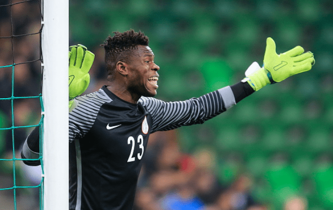 Uzoho is not the Super Eagles first choice Goalkeeper