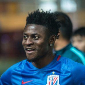Shanghai Shenhua Signs Nigerian international to replace Ighalo