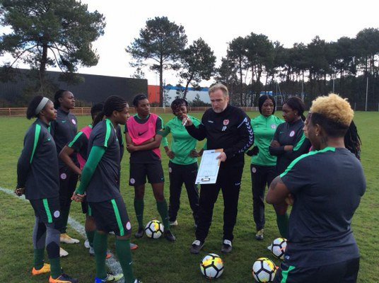 Ikhana Rallies Support For Dennerby Despite Super Falcons Humiliating Defeat To France