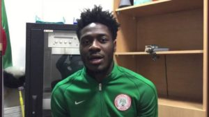 "Aina Happy To Choose Nigeria Over England, Eyes World Cup ""Achievement"
