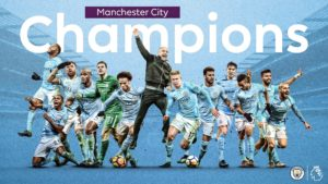 Iheanacho's former team Manchester City win English Premier League title