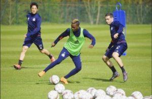 Excited Onyekuru Returns To Full Training With Anderlecht