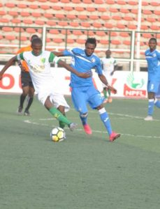 16 Year Old Abubakar Umar Turning Heads At NPFL Champions Plateau United