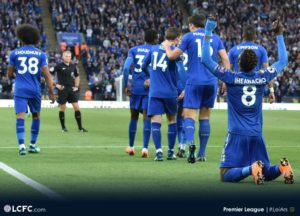 Injured Ndidi Hails Leicester Teammates After Impressive Arsenal Win