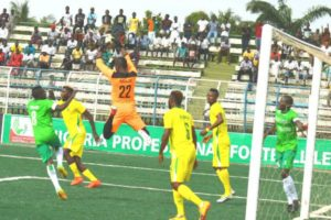 NPFL Review: Okpotu Scores As Leaders Lobi Stop Rangers; Pillars Hold Nasarawa, Tornadoes Stun FCIU
