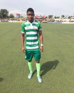 ano Pillars Nazifi Yahaya Back In Nigeria After Shinning During Trials With Danish Side Brondby