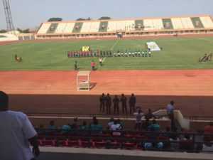 Wasiu Alalade Hit Brace As Guinea Bissau Force Flying Eagles To Draw In Bissau