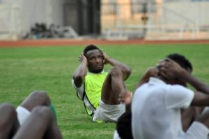 24 Super Eagles in Gym Session Ahead of World Cup 2022 Qualifiers against Liberia