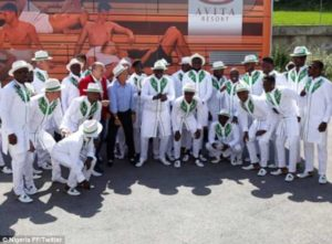 Super Eagles reveal their stunning travel outfits for trip to Russia