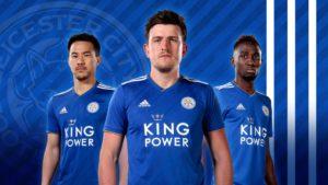 Ndidi, Vardy, Okazaki Model Leicester's New Adidas Jersey