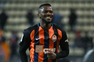 Kayode Hit With Three-Match Ban In Ukraine Over Red Card