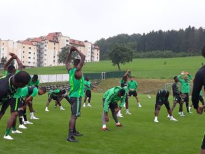 Super Eagles Squad Storm Dnipro Today Ahead Ukraine Friendly