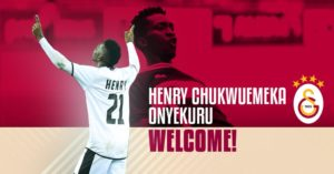 Official: Henry Onyekuru joins Galatasaray in Switzerland after loan move finally goes through