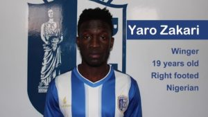 Ex Nigeria U17 Ace Zakari Joins Egyptian Side Nogoom FC From Portuguese Side Vizela