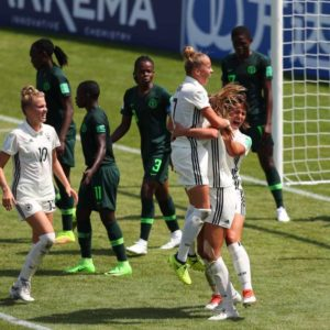 Germany Pip Unlucky Nigerian Falconets 1-0 In Group C Opener in the ongoing FIFA WWC