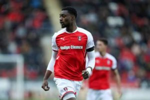Super Eagles Newbie Semi Ajayi Outshines Etebo, Voted MOTM In Rotherham's 2-2 Draw Against Stoke