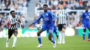 Ndidi Celebrates Leicester Win At Newcastle United