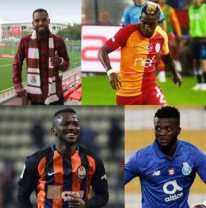 Six Nigerian Stars To Feature In UCL Group Stages; Benfica Exclude Ebuehi