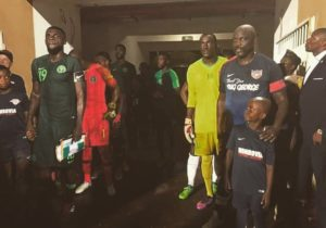 President Weah makes surprise return against Super Eagles
