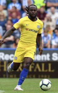 Moses Set For Chelsea Vs Vidi Action in the Europa League