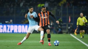 Kayode Benched In Shakhtar's Home Loss To Man City; Ubong Subbed On As Plzen Lose To Madrid