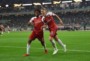 Iwobi Shines, Bags Another Assist For Arsenal In Europa League Win Over Qarabag