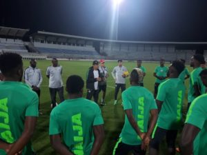Details Of Super Eagles Training Session In Tunisia Ahead Libya Clash – Rohr Hints At Formation