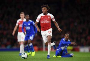 Alex Iwobi Wins MOTM Award Ahead Of Ozil As Arsenal Thrash Leicester City 3-1