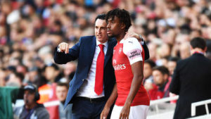 Arsenal Coach Emery Explains Why Iwobi Was Subbed Off Against Spurs