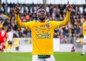 Chisom Egbuchulam goals steer Swedish club Falkenbergs FF closer to promotion