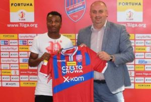 Ex Man City Midfielder Nwakali Part Ways With Polish Second Division Side Rakow Czestochowa