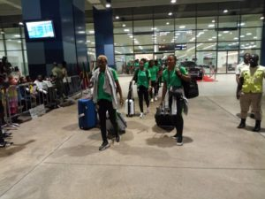 Super Falcons Land Ghana For Title Defence