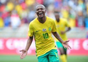 Serero: I'm Ready To Play Any Role For Bafana Against Eagles