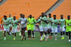 Rohr Adopts 3-5-2 Formation Vs South Africa; Ezenwa In Goal, Ogu, Kalu Start; Musa, Iheanacho Lead Attack