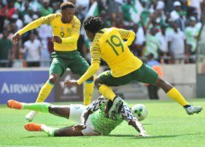 Super Eagles qualify for 2019 AFCON after holding Bafana Bafana in Johannesburg