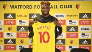 Isaac Success Extends Watford Stay