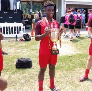 Wonder Kid Nwegbo Snubs USA For Golden Eaglets Chance